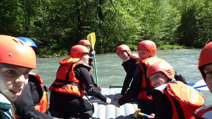 Descente de l'Isère en raft